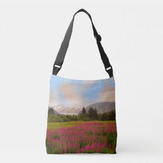 Alaskan Fireweed Crossbody Bag