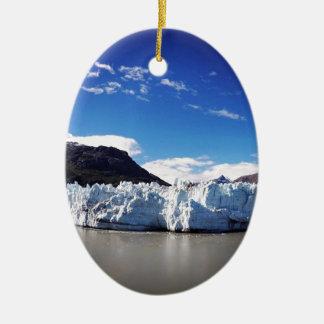 Alaskan Glacier Ceramic Ornament
