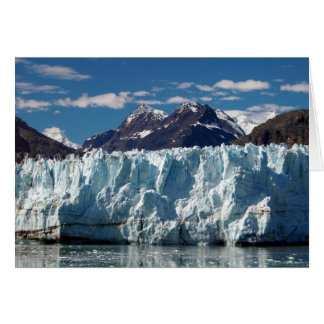 Alaskan Glacier in Prince Williams Sound Card