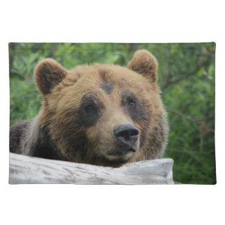 Alaskan Grizzly Bear, The Kodiak Place Mats
