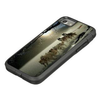 Alaskan Husky Dog Sled Race Case-Mate Tough Extreme iPhone 8/7 Case