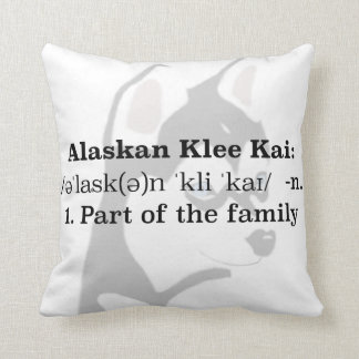 Alaskan Klee Kai Pillow