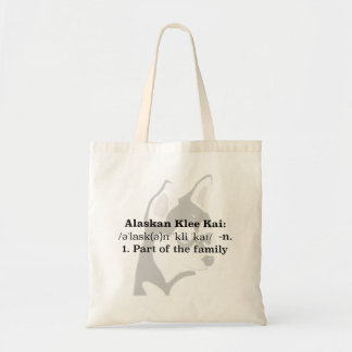 Alaskan Klee Kai Tote Bag