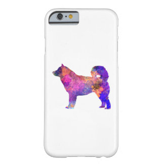 Alaskan Malamute 01 in watercolor 2 Barely There iPhone 6 Case