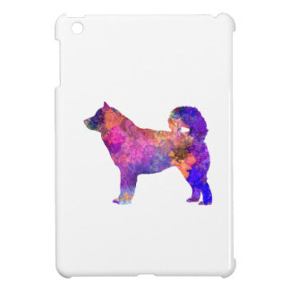 Alaskan Malamute 01 in watercolor 2 iPad Mini Case