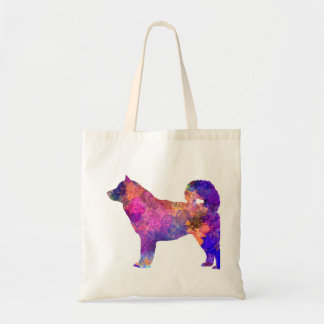 Alaskan Malamute 01 in watercolor 2 Tote Bag