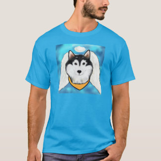 Alaskan Malamute Angel T-Shirt