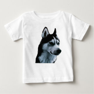 Alaskan Malamute Artwork Baby T-Shirt