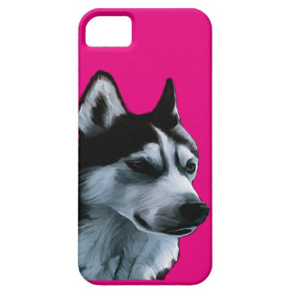 Alaskan Malamute Artwork Case For The iPhone 5