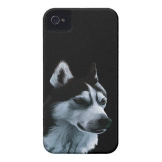 Alaskan Malamute Artwork iPhone 4 Covers