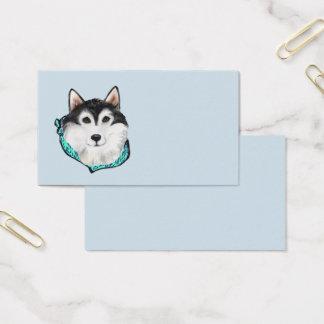ALASKAN MALAMUTE BUSINESS CARD