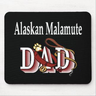 Alaskan Malamute Dad Gifts Mouse Pad