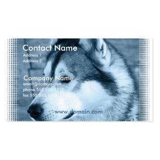 Alaskan Malamute Dog Business Card
