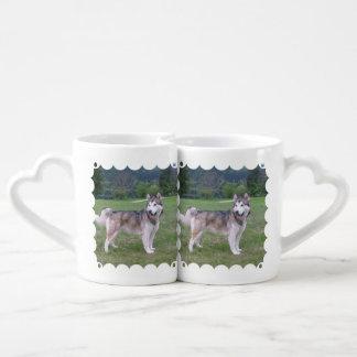 Alaskan Malamute Dog Lovers Mug Set