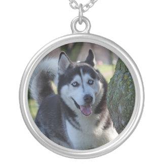 Alaskan Malamute dog necklace gift idea