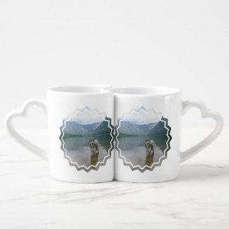 Alaskan Malamute Dog Couples Mug