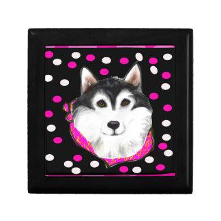 Alaskan Malamute Easter Gift Box