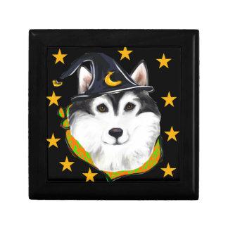 Alaskan Malamute Halloween Gift Box