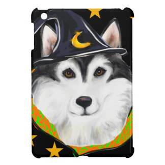 Alaskan Malamute Halloween iPad Mini Cover