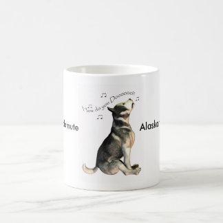 Alaskan Malamute, How Do You Do? Note  hello Coffee Mug