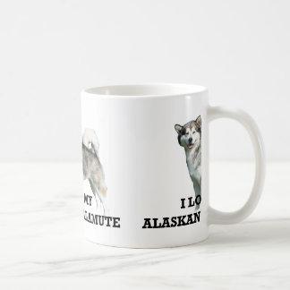 alaskan malamute love w pic coffee mug