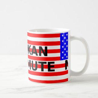 alaskan malamute name on flag coffee mug