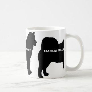 Alaskan Malamute name silo Coffee Mug