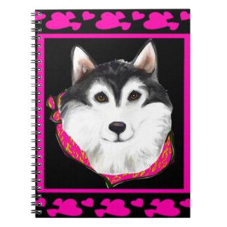 Alaskan Malamute Notebooks
