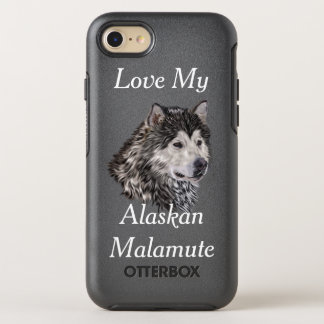 Alaskan Malamute OtterBox Symmetry iPhone 8/7 Case