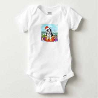 Alaskan Malamute Puppy Baby Onesie