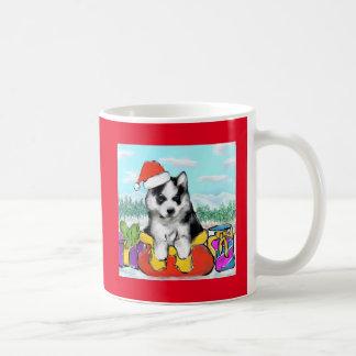 Alaskan Malamute Puppy Coffee Mug