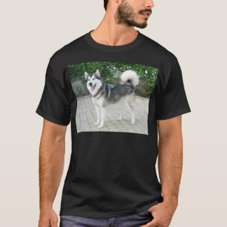 Alaskan Malamute Puppy Dog T-Shirt