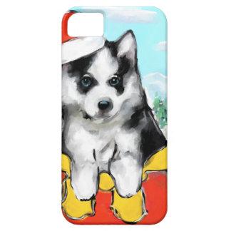 Alaskan Malamute Puppy iPhone 5 Covers