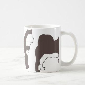 Alaskan Malamute seal and white silo Coffee Mug