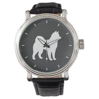 Alaskan Malamute Silhouette Watch
