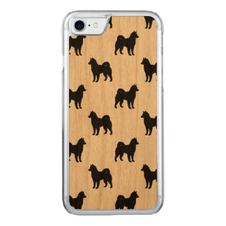 Alaskan Malamute Silhouettes Pattern Carved iPhone 8/7 Case