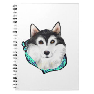 Alaskan Malamute Spiral Notebook
