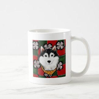 Alaskan-Malamute St. Patty Coffee Mug