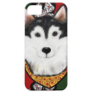 Alaskan-Malamute St. Patty iPhone 5 Covers
