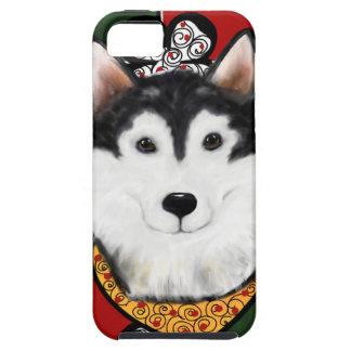 Alaskan-Malamute St. Patty Tough iPhone 5 Case