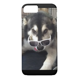 Alaskan Malamute Sunglasses iPhone case