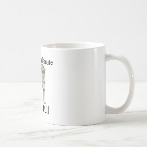 Alaskan Malamute Weight Pull Coffee Mugs