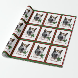Alaskan Malaute Christmas Wrapping Paper