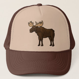 Alaskan Moose Trucker Hat