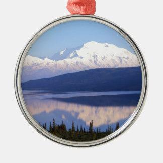 Alaskan Mountain.jpg Metal Ornament