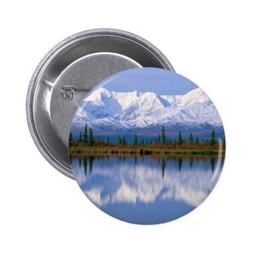 Alaskan Mountians Pin