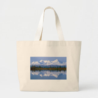 Alaskan Mountians Canvas Bags