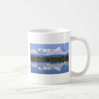 Alaskan Mountians Basic White Mug