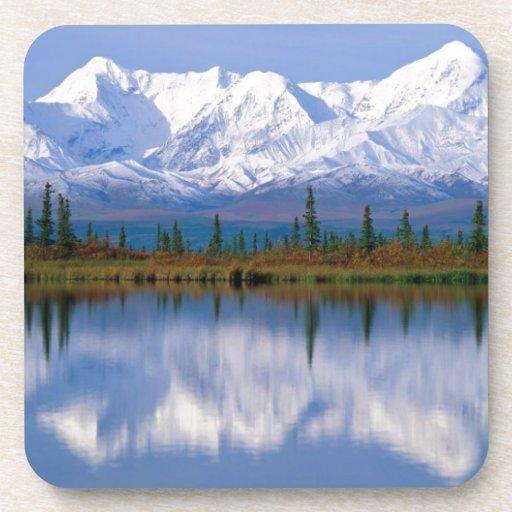 Alaskan Mountians Beverage Coasters