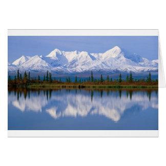 Alaskan Mountians Greeting Card